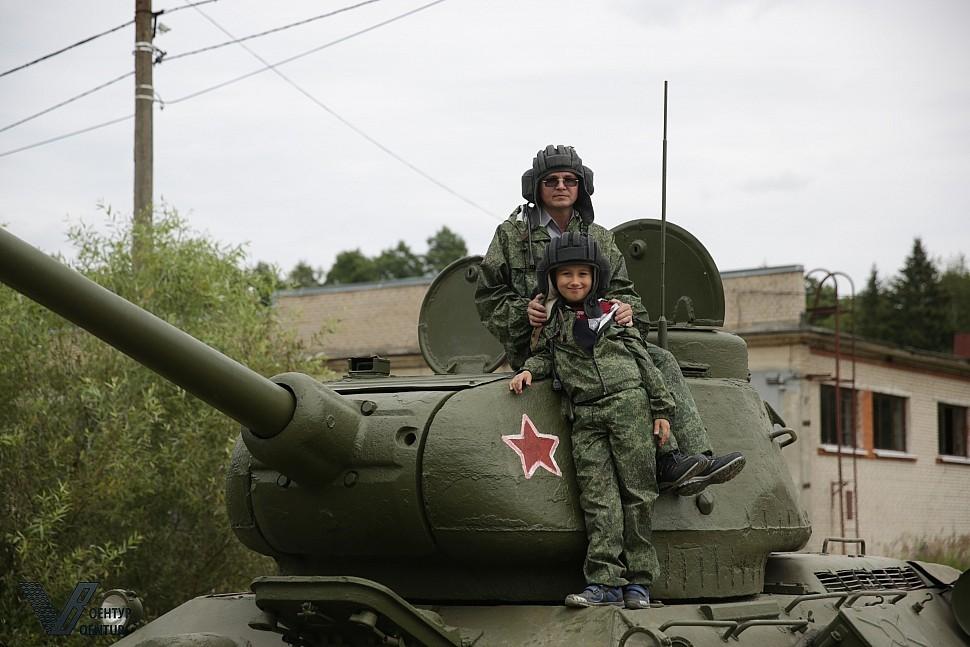 Подарок езда на танке 48