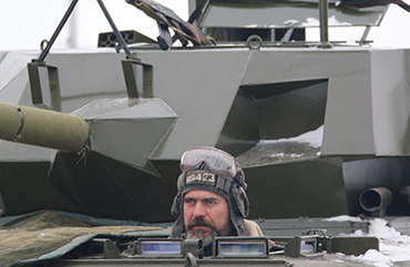 на танке в подмосковье