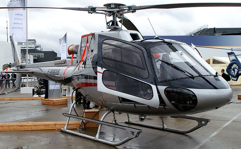 1 пилот + 5 пассажиров Airbus Helicopters AS350 B3